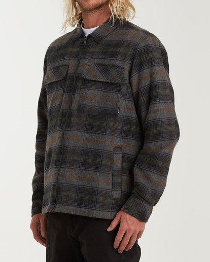 1 Barlow Zip Jacket Grey M735VBBZ Billabong
