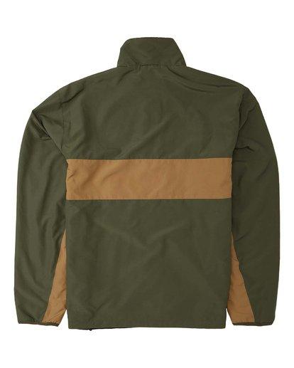 10 Highland Reversible Jacket Green M7393BAR Billabong