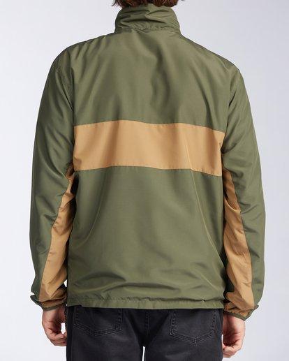 3 Highland Reversible Jacket Green M7393BAR Billabong
