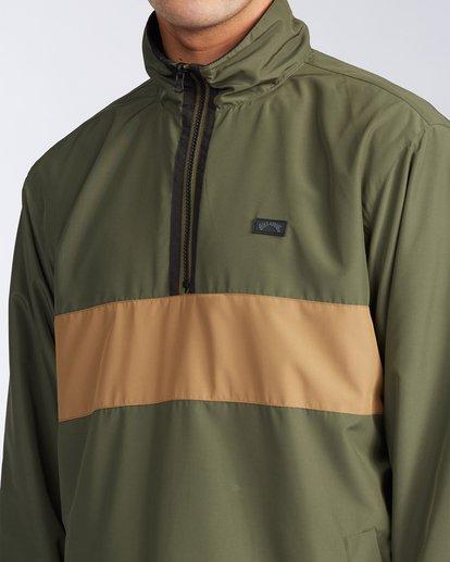 4 Highland Reversible Jacket Green M7393BAR Billabong