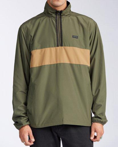 0 Highland Reversible Jacket Green M7393BAR Billabong