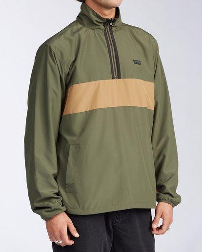 2 Highland Reversible Jacket Green M7393BAR Billabong