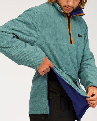4 Highland Reversible Jacket Blue M7393BAR Billabong