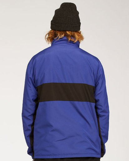 2 Highland Reversible Jacket Blue M7393BAR Billabong