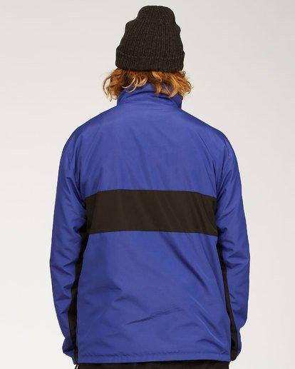8 Highland Reversible Jacket Blue M7393BAR Billabong