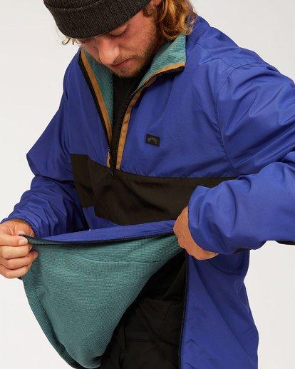 9 Highland Reversible Jacket Blue M7393BAR Billabong