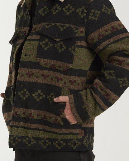 3 Barlow Sherpa Jacket Black M740VBBS Billabong