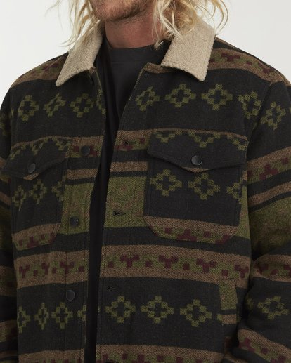 4 Barlow Sherpa Jacket Black M740VBBS Billabong