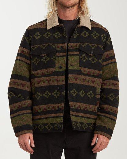 0 Barlow Sherpa Jacket Black M740VBBS Billabong