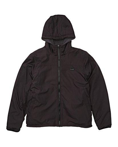 4 Switchback Reversible Jacket Black M741WBSR Billabong