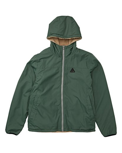 4 Switchback Reversible Jacket Green M741WBSR Billabong