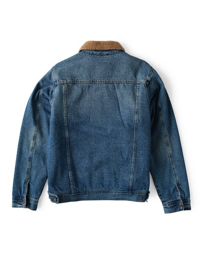 1 Barlow Trucker Jacket Blue M744VBTR Billabong