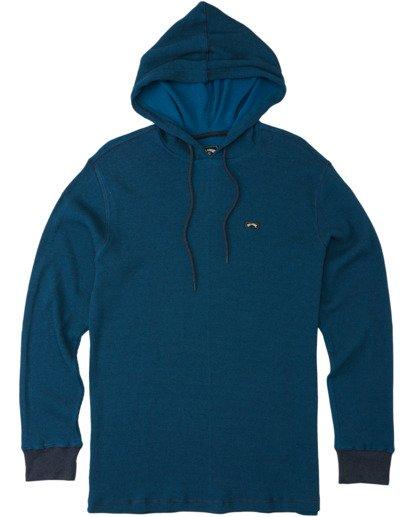 3 Keystone Pullover Hoodie Blue M9013BKE Billabong