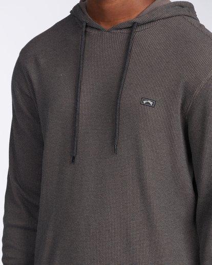 4 Keystone Pullover Hoodie Black M9013BKE Billabong