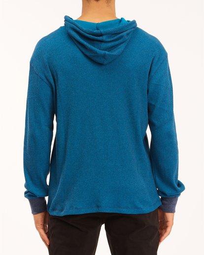 2 Keystone Pullover Hoodie Blue M9013BKE Billabong