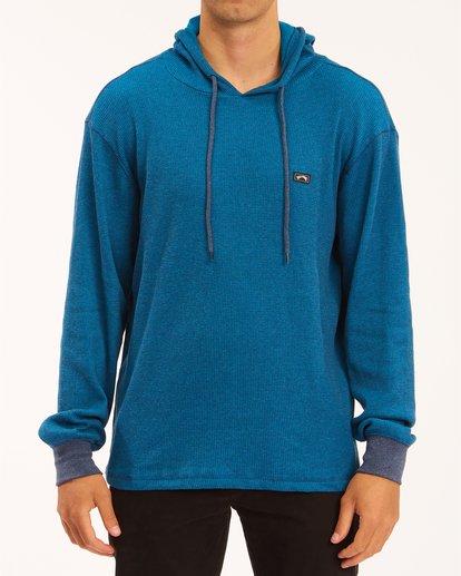 0 Keystone Pullover Hoodie Blue M9013BKE Billabong