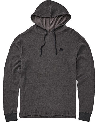 3 Keystone Pullover Thermal Hoodie Black M901VBKE Billabong