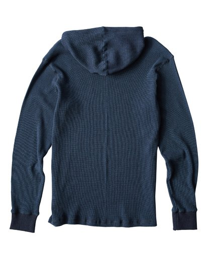 5 Keystone Pullover Thermal Hoodie Blue M901VBKE Billabong