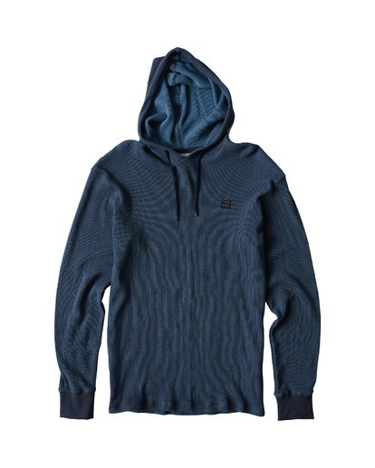 4 Keystone Pullover Thermal Hoodie Blue M901VBKE Billabong
