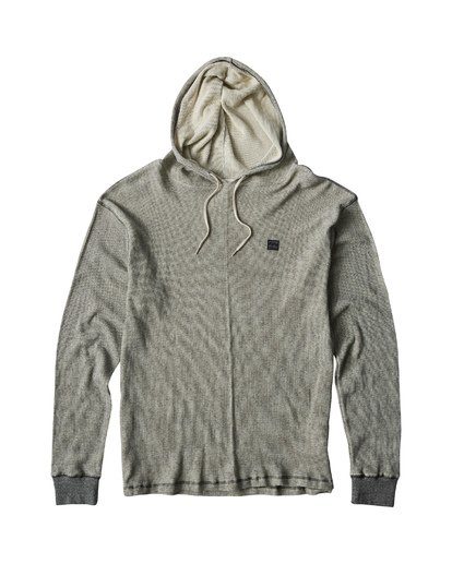 4 Keystone Pullover Thermal Hoodie Brown M901VBKE Billabong