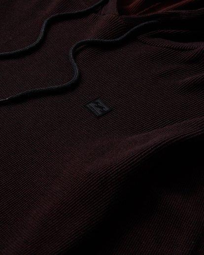 6 Keystone Pullover Thermal Hoodie Red M901VBKE Billabong