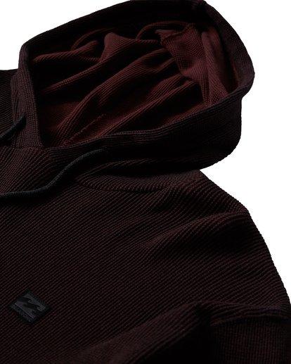 7 Keystone Pullover Thermal Hoodie Red M901VBKE Billabong