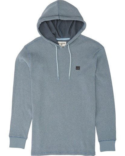 3 Keystone Pullover Thermal Hoodie Blue M901VBKE Billabong