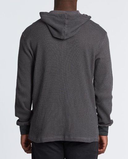 2 Keystone Pullover Thermal Hoodie Black M901VBKE Billabong