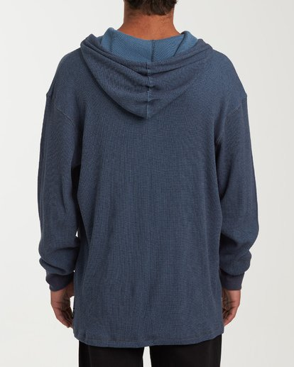 2 Keystone Pullover Thermal Hoodie Blue M901VBKE Billabong