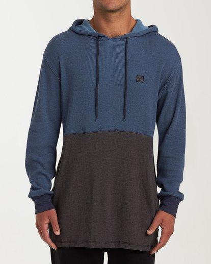 0 Keystone Panel Pullover Hoodie Blue M901WBKE Billabong