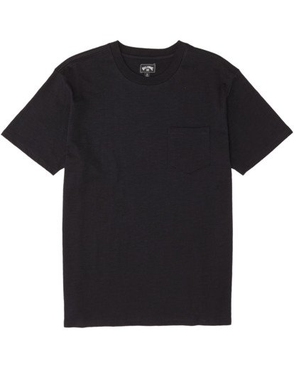 3 Mesa Slub Crew T-Shirt Black M9041BMS Billabong