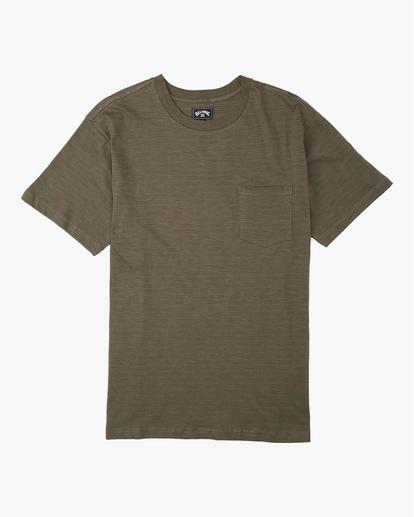 0 Mesa Slub Crew T-Shirt  M9041BMS Billabong