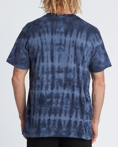 2 Oddball Crew T-Shirt Blue M9041BOD Billabong