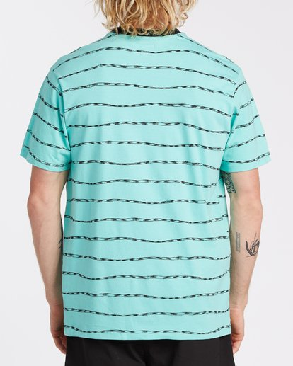 2 Truffula Trunk Crew T-Shirt Green M9042BTR Billabong
