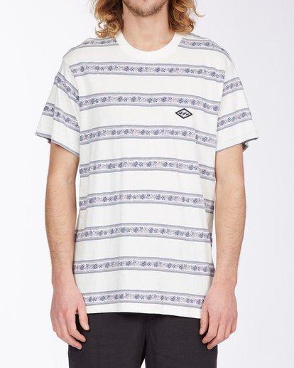 0 Austin Crew T-Shirt White M9043BAU Billabong