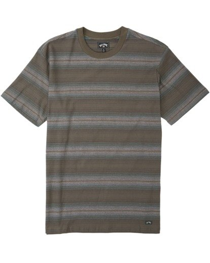 3 Baja Crew T-Shirt Brown M9043BBA Billabong