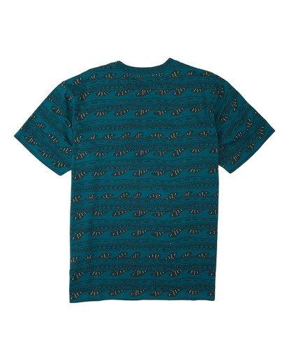 1 Sunday Short Sleeve T-Shirt Multicolor M9043BSN Billabong