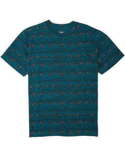0 Sunday Short Sleeve T-Shirt Multicolor M9043BSN Billabong