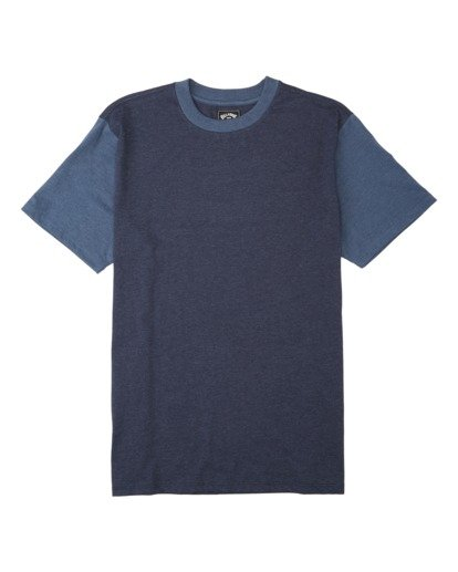 3 Zenith Short Sleeve T-Shirt Blue M9043BZE Billabong
