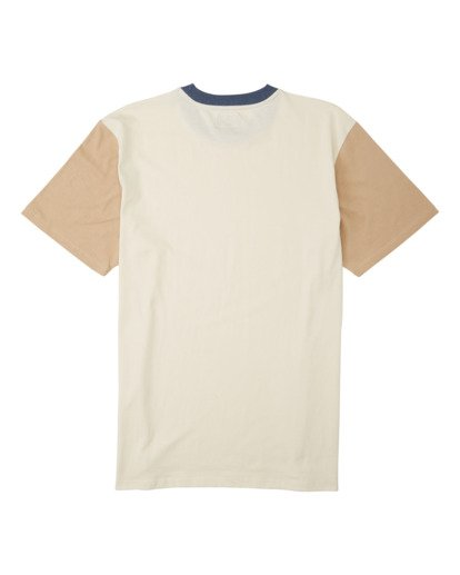 7 Zenith Short Sleeve T-Shirt Beige M9043BZE Billabong