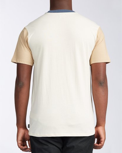 2 Zenith Short Sleeve T-Shirt Beige M9043BZE Billabong