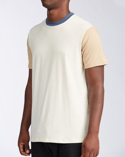 1 Zenith Short Sleeve T-Shirt Beige M9043BZE Billabong