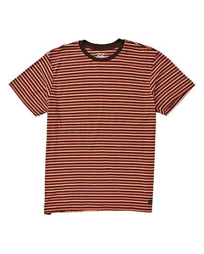0 Die Cut Stp Short Sleeve Crew Shirt Orange M905VBDI Billabong