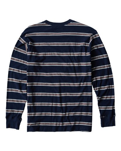 1 Die Cut Long Sleeve T-Shirt Blue M905VBDL Billabong