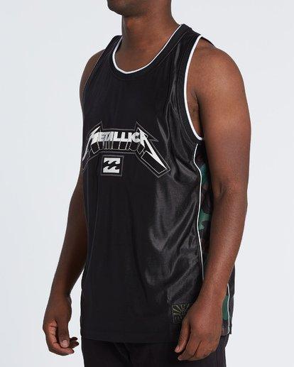 1 AI Metallica Jersey Black M9091BME Billabong