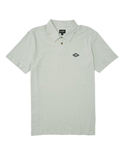 3 Schooled Polo Shirt Grey M9181BSP Billabong