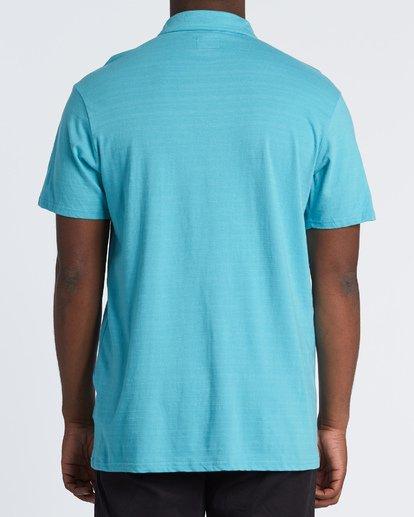 2 Schooled Polo Shirt Black M9181BSP Billabong