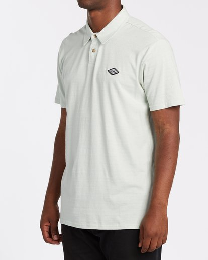 1 Schooled Polo Shirt Grey M9181BSP Billabong