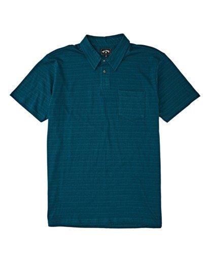 3 Standard Issue Polo Shirt Blue M9181BST Billabong