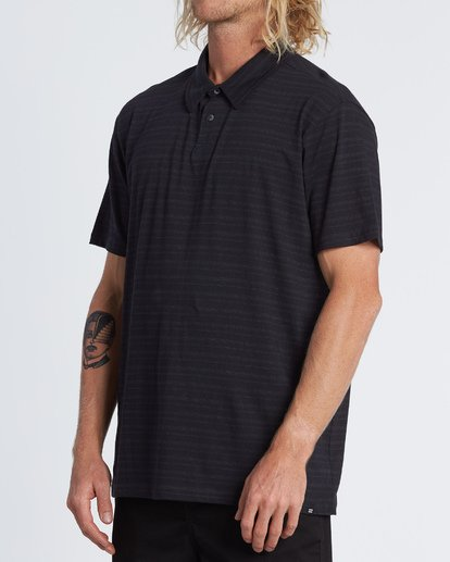 1 Standard Issue Polo Shirt Black M9181BST Billabong